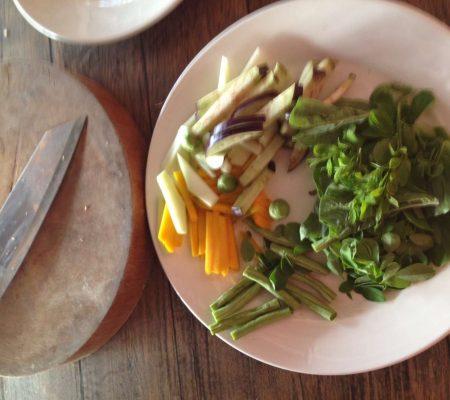 Gemüsesuppe aus Kambodscha